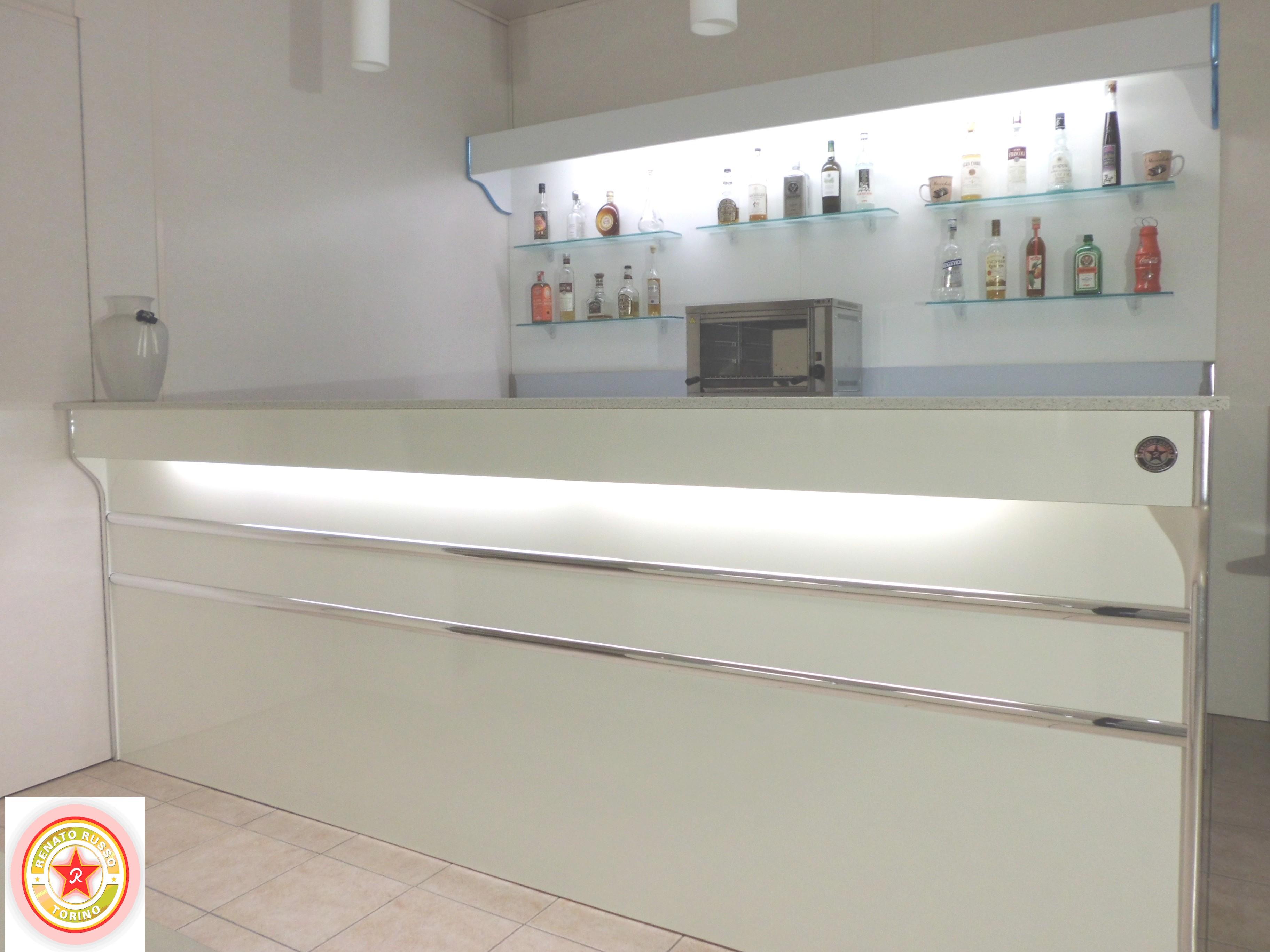 Banchi bar banchi bar grezzi banchi bar da rivestire for Arredamento bar moderno prezzi