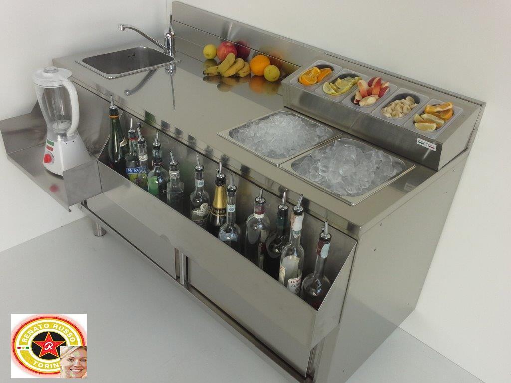 Banconi bar vetrine refrigerate banchi bar da rivestire for Martini arredamenti ribolla